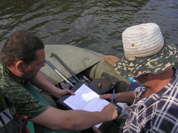 Запорізький рибоохоронний патруль роз'яснює Правила любительського та спортивного рибальства