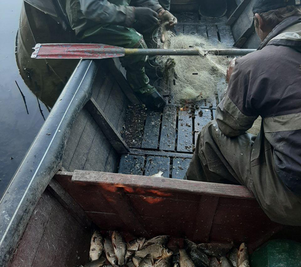 На Дніпровському водосховищі виявлено порушників з 20 кг риби,- Запорізький рибоохоронний патруль