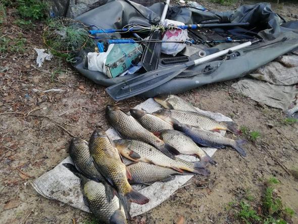 Інспектори Запорізького рибоохоронного патруля затримали чергових «електровудочників»